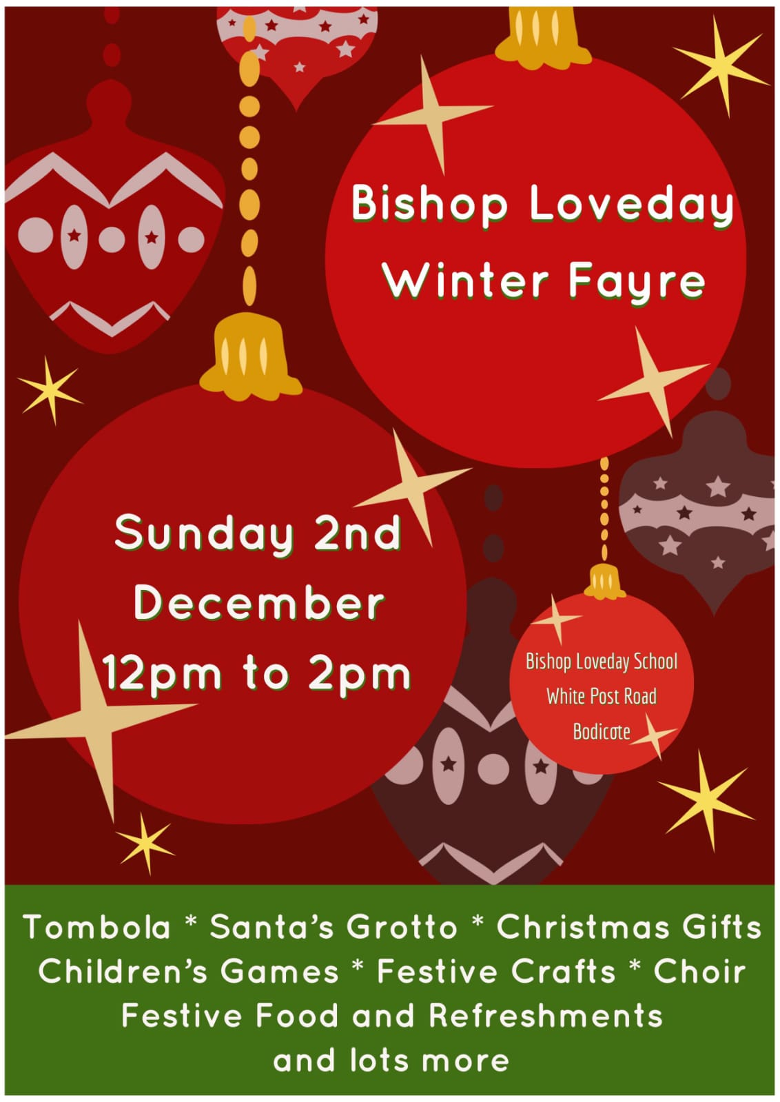 Winter fayre flyer